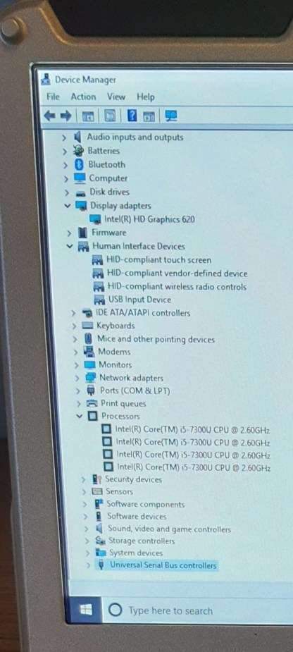 CF-31 MK6 Device Manager