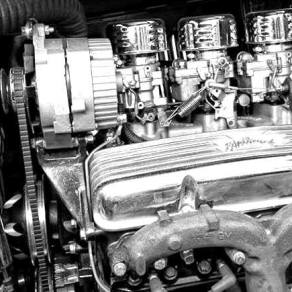 1932 Ford 5W Coupe - Engine - 2