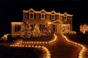 christmas holiday lights home decor seasonal