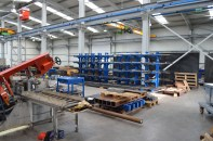 P@rtner ERP is used in different types of manufacturers - this one that we visited manufactures steel parts