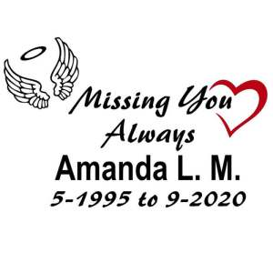 Amanda Decal