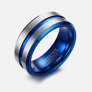 Coloured Tungsten Rings