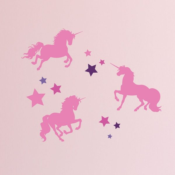 Unicorn Stickers For Kids Room Never Stop Believing