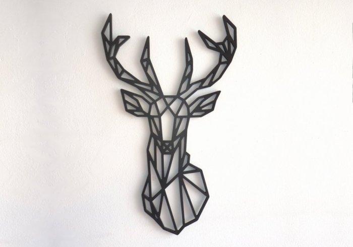 ciervo decoracion paredes nordicas