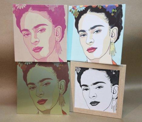 Decoración con Frida Kahlo