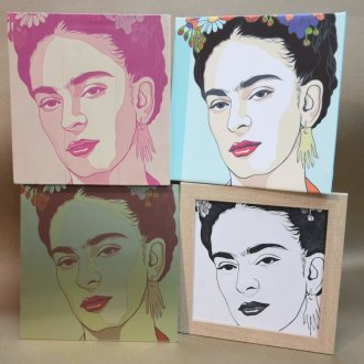 Decoración con Frida Kahlo