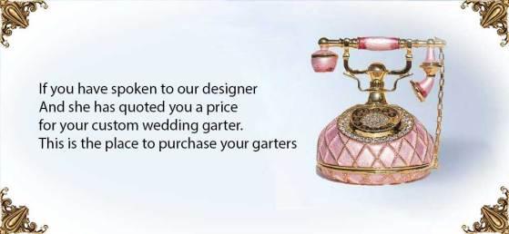 Custom Wedding Garters. Bridal Garters and Prom Garters
