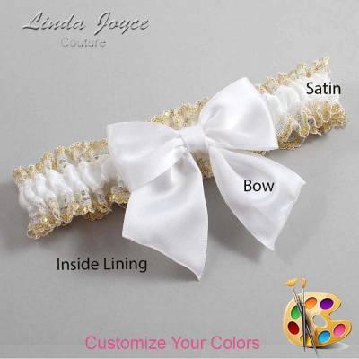 Customizable Bow Bridal Wedding Garter