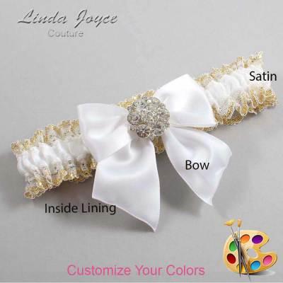 Customizable Bow Elegant Garter