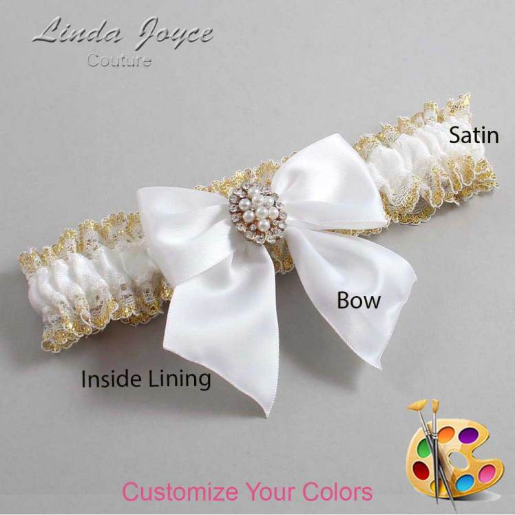 Customizable Bow Heirloom Garter