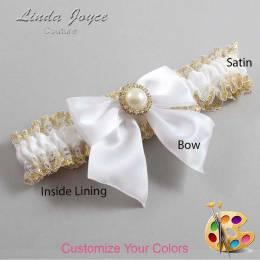 Customizable Bow Romantic Wedding Garter