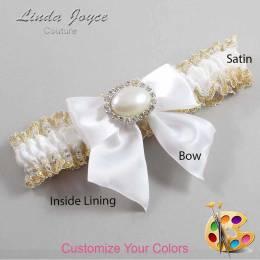 Customizable Bow Bridal Garter