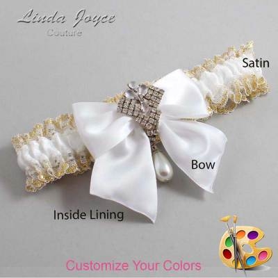Customizable Custom Romantic Bridal Garter