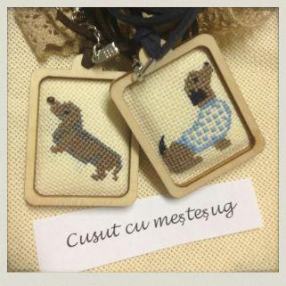 Cute dog pendants
