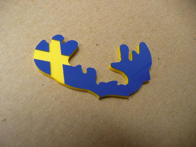 Volvo Moose Badges