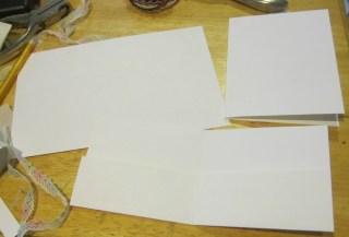 Martha Stewart craft punch and Metallic cardstock