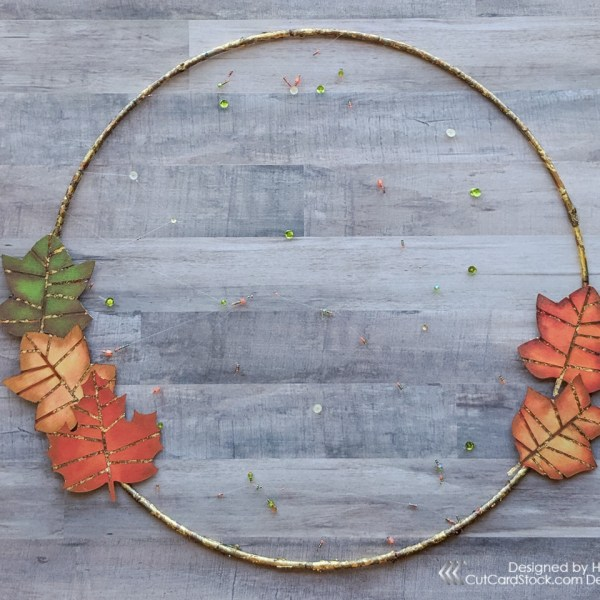 Minimalist Fall Wreath