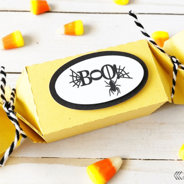 Halloween Candy Wrapper Boxes