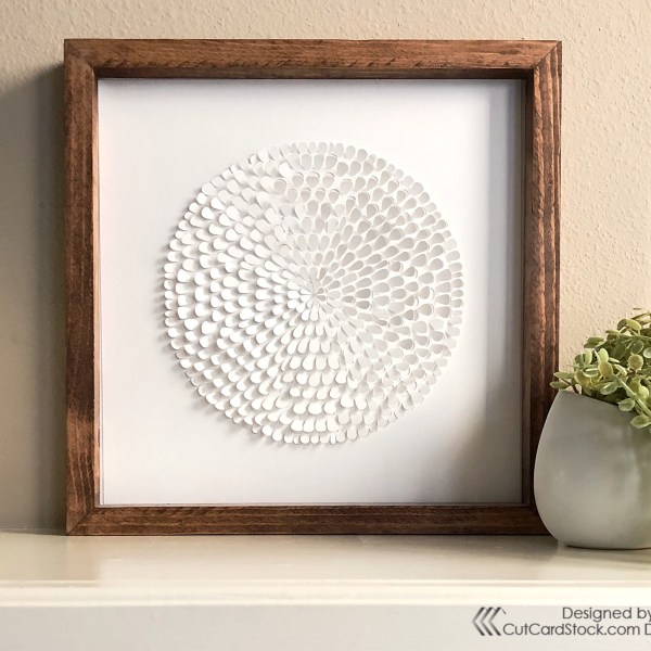 DIY Textured Wall Art