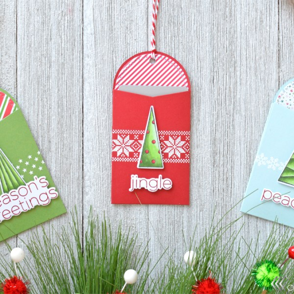 Holiday Countdown Series: Christmas Gift Card Tags