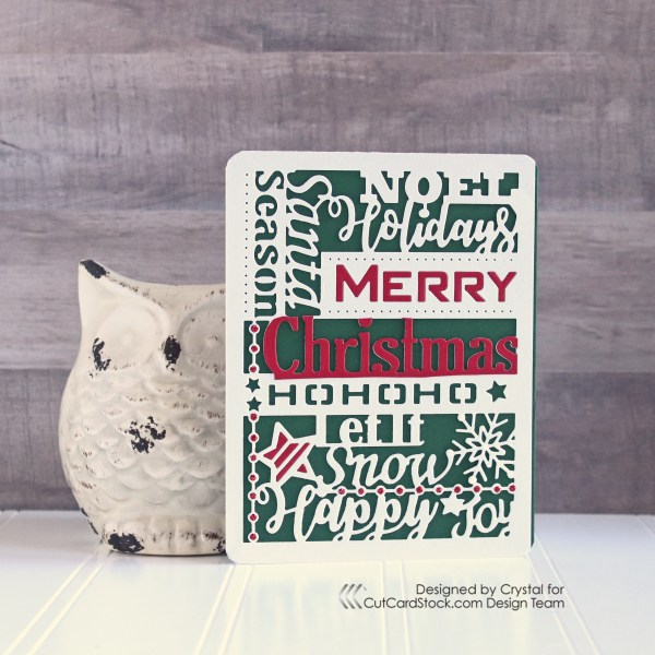 Fast Holiday Card!