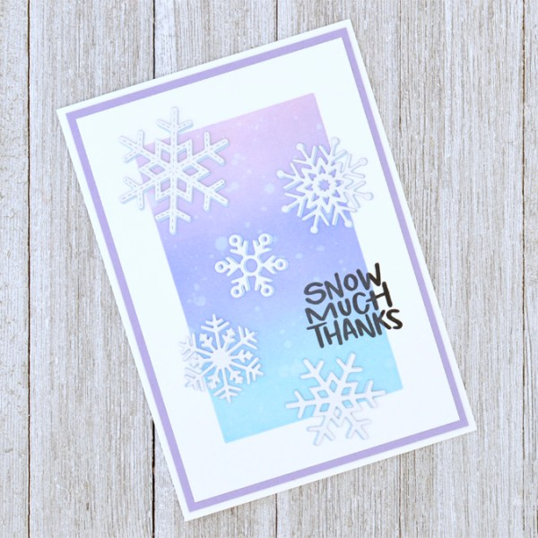 Snow Much Thanks Card