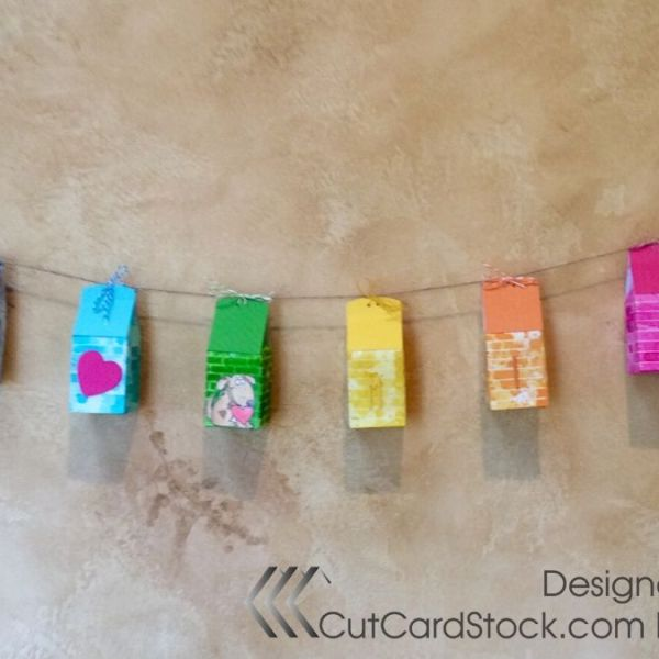 Rainbow Valentines Gift Boxes