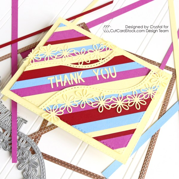 Bright Colorful Thank You Card