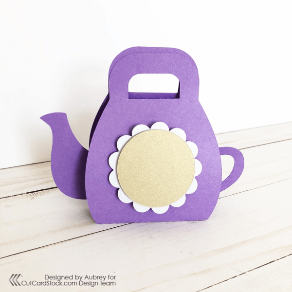 3D Teapot Purse Party Favor