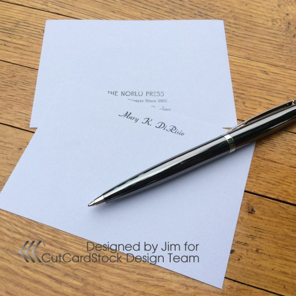 Work-and-Turn Your Way to Elegant Two-Sided A1 Note Cards