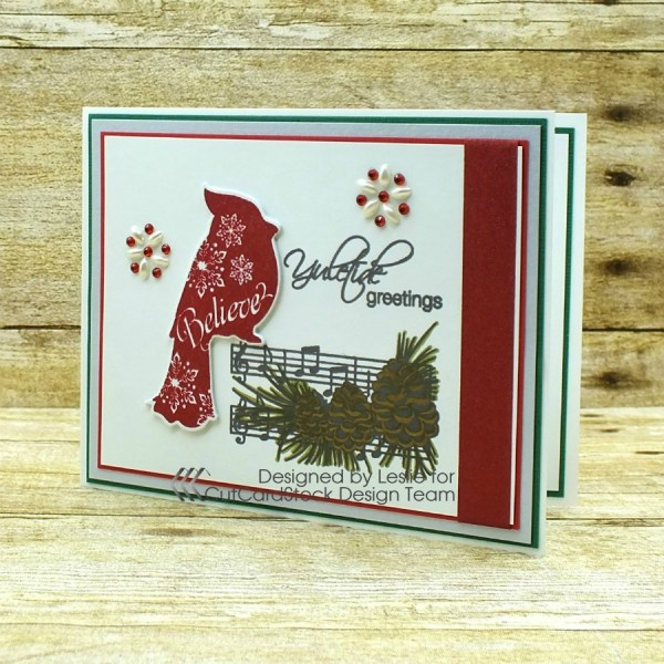 How to create an elegant traditional Christmas card