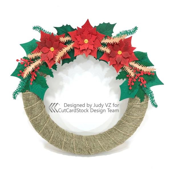 Making a DIY Holiday Wreath