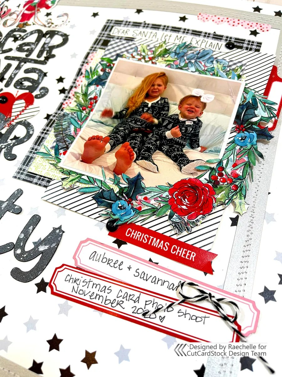Dear Santa Holiday Layout | Raechelle Bellus