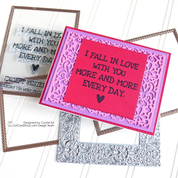 I Fall in Love With You Card!