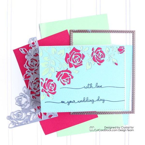 A Wedding Day Card, With Love