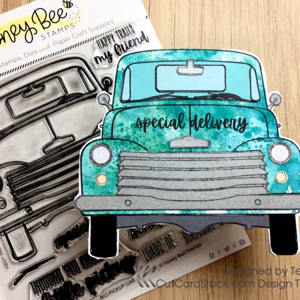Shaped Truck Card