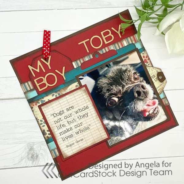 My Boy Toby: An 8×8 Pet Layout
