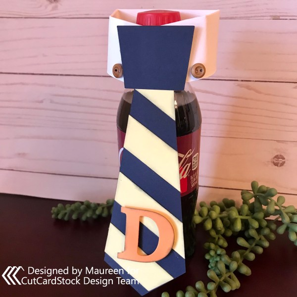 Father's Day Tie Bottle Tag