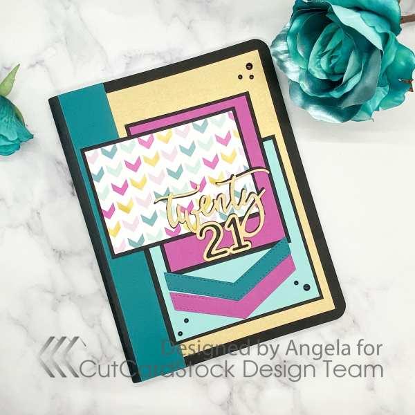 2021 Handmade Journal Cover