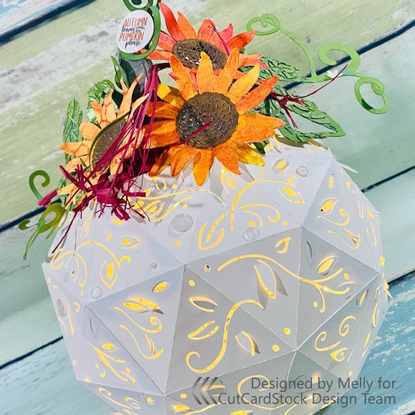 FALLing for Pumpkins: Filigree Pumpkin Lantern!