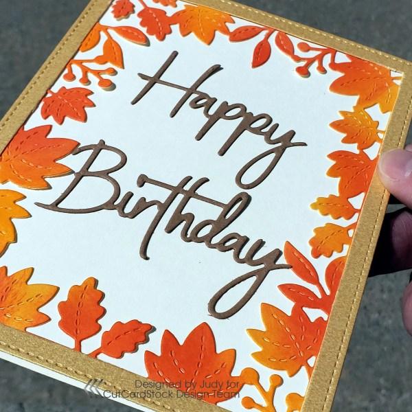 Fall Birthdays? Yes Please!