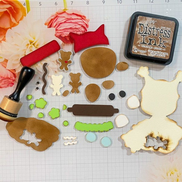 Cute Ginger Tag – Cameo 4 Project
