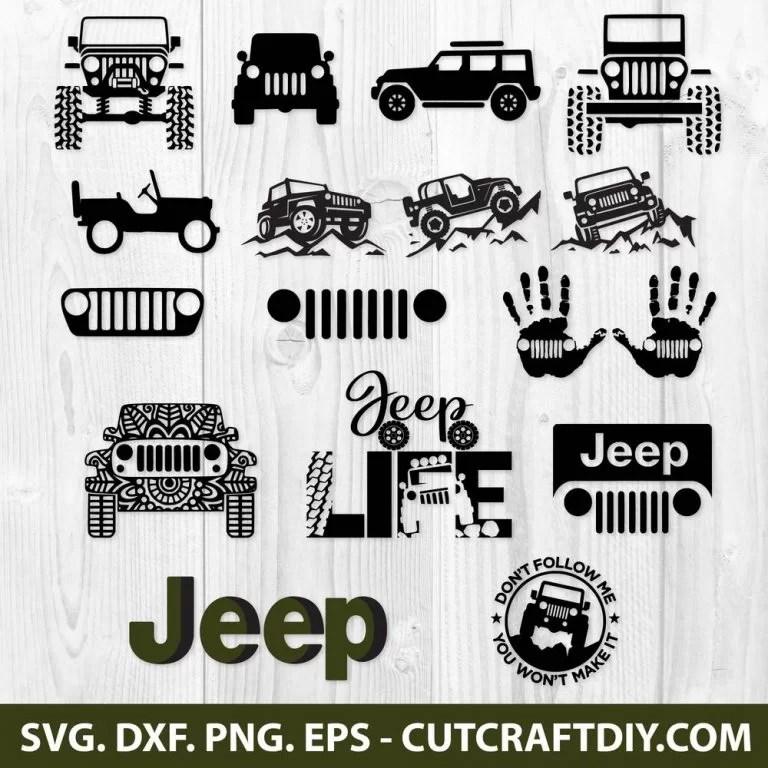Download JEEP SVG BUNDLE, DXF, PNG, EPS, Cut Files - JEEP LOGO SVG