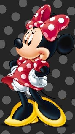 minnie02 min - ミニーマウスの魅力でもあるキュートなかわいい声!!いったい誰が?!