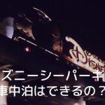 syacyu03 min - ディズニーシー駐車場で車中泊はできる?