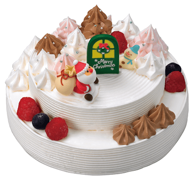 3104 min - ツムツムクリスマスデコレーションケーキが大人気!!今年もサーティーワン・アイスクリームでGET!