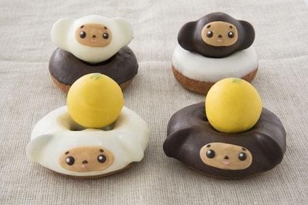 cye001 min - チェブラーシカ・フロレスタのドーナツになる!!かわいすぎ♥