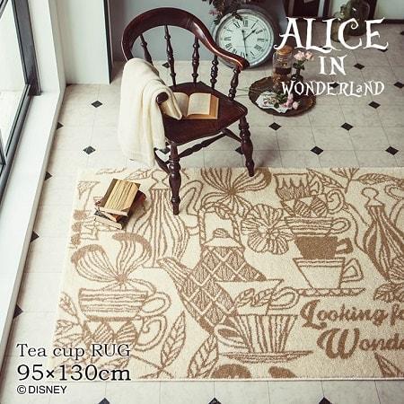 "alice12 min - ディズニーシリーズ""Alice in Wonderland""のインテリアファブリックでお部屋の模様替え?!"