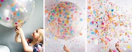 ballon01 min - パーティーバルーンがクリスマスを楽しく盛り上げてくれる!!KNOT&BOW's 紙吹雪バルーン!