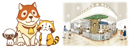 sekai01 min - 世界名作劇場のカフェレストランがオープン!!ラスカルやパトラッシュに会える?!